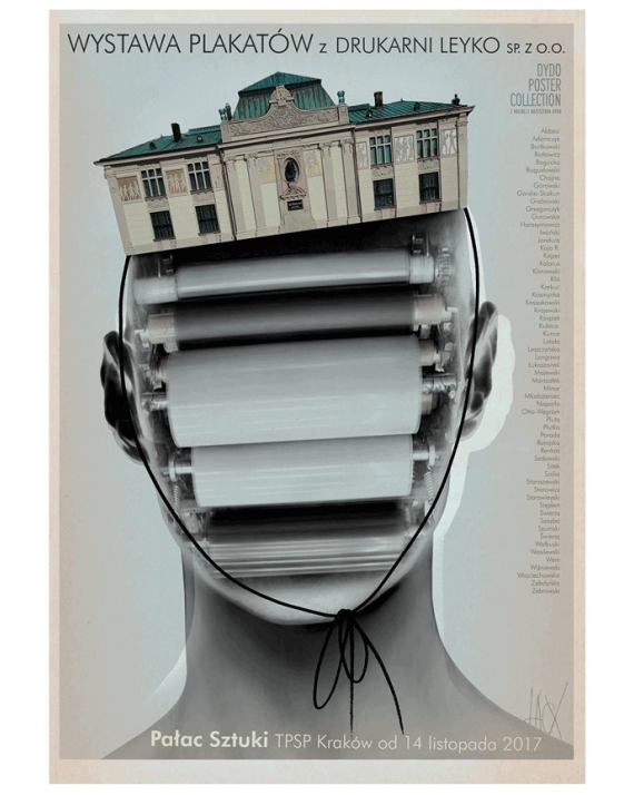 Wystawa plakatów z Drukarni Leyko