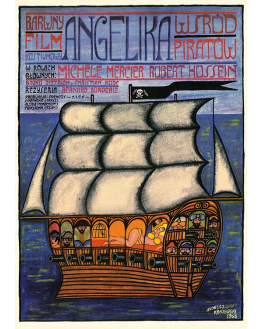Angelika wśród piratów (reprint)