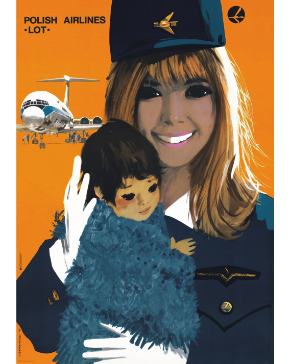 Polish Airlines LOT (reprint)