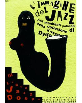 Plakat jazzowy z kolekcji K.Dydo