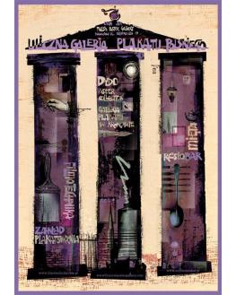 Uliczna galeria plakatu polskiego