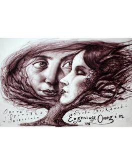 Eugene Onegin, Polish Opera Poster