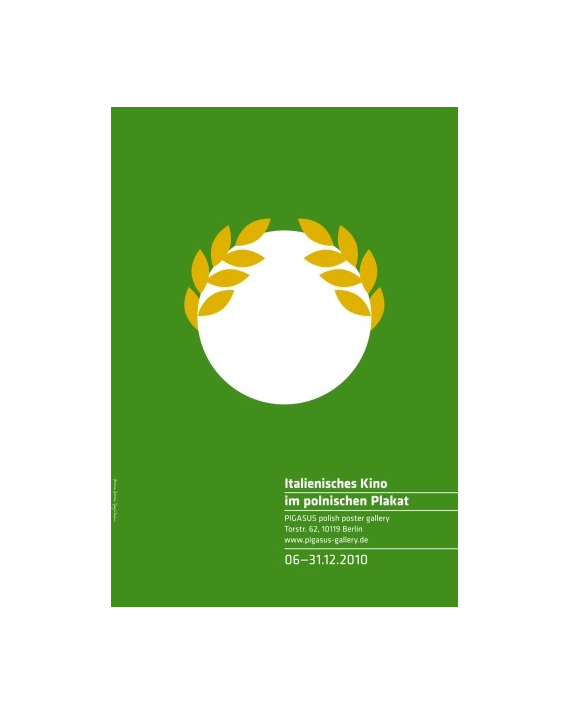 Italian Films in Polish Poster