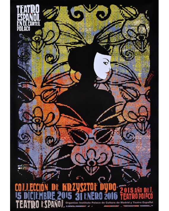 Spanish Theatre In Polish Posters