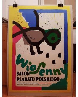 Wiosenny salon plakatu