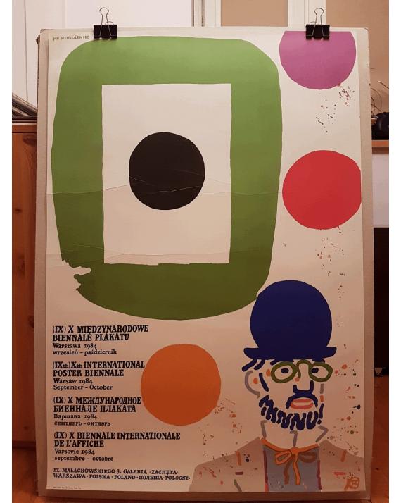 (IX) X Międzynarodowe Biennale Plakatu