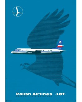Polish Airlines LOT (reprint)