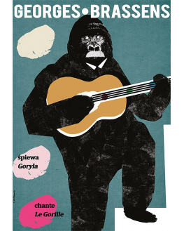Georges Brassens singing The Gorilla