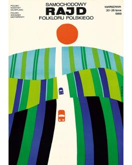 Samochodowy rajd folkloru polskiego (reprint)