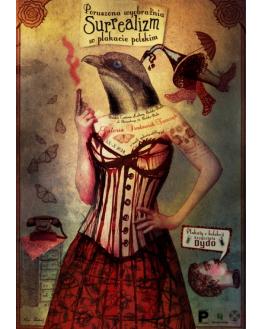 Surrealizm w plakacie plakacie