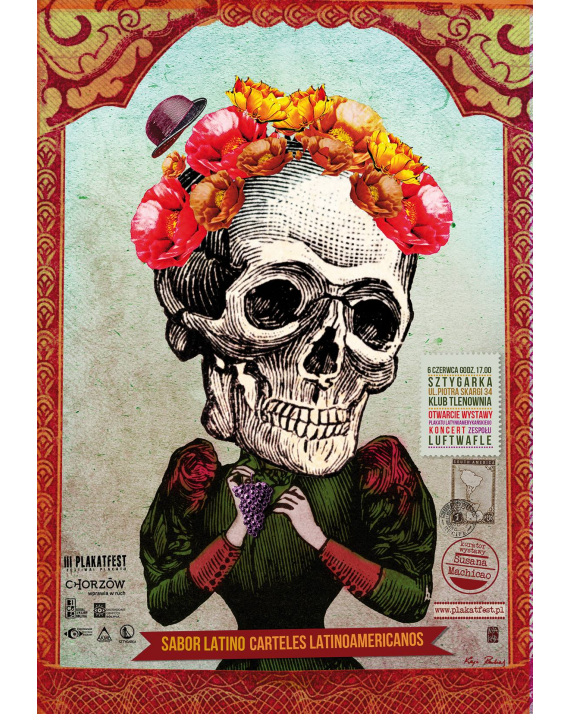 Sabor Latino. Carteles Latinoamericanos