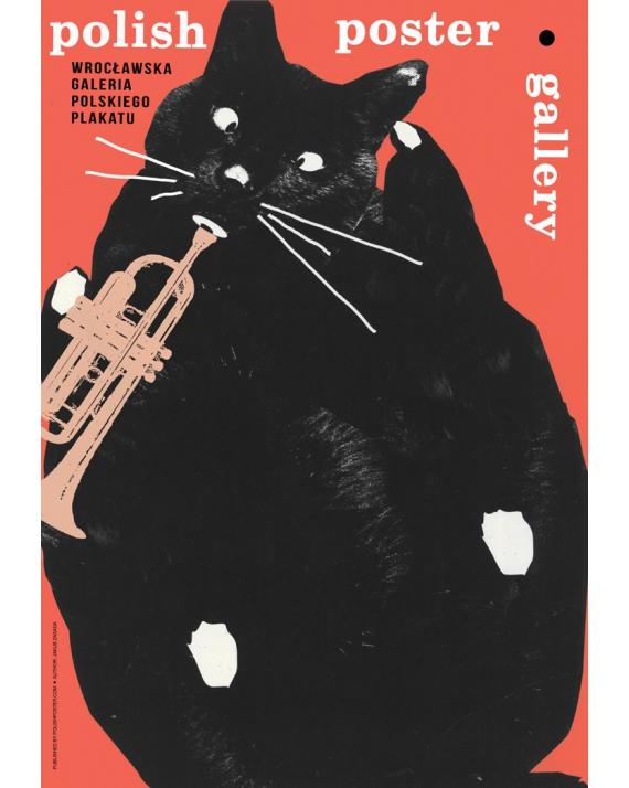 Kot z trąbką