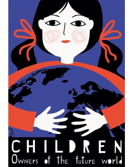 Children. Owners of the future world