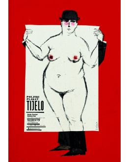 Polish poster: Body (Pula)