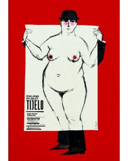 Poljski plakat: Tijelo (Pula)