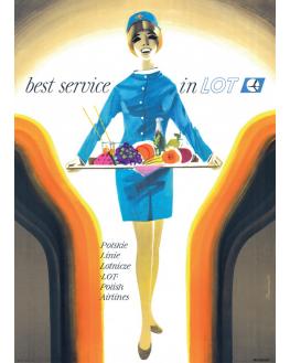 Best service In LOT '1966 (reprint)