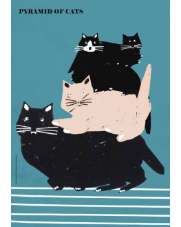 Pyramid of Cats