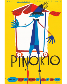 Pinocchio, Walt Disney (reprint)