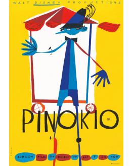 Pinokio, Walt Disney (reprint)