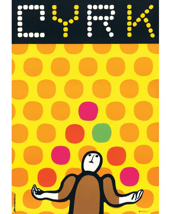 CYRK -żongler  (reprint)