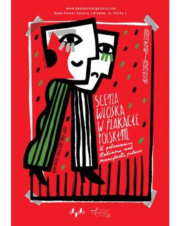 Scena włoska w plakacie polskim