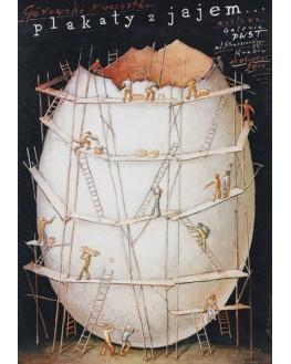 Plakaty z Jajem