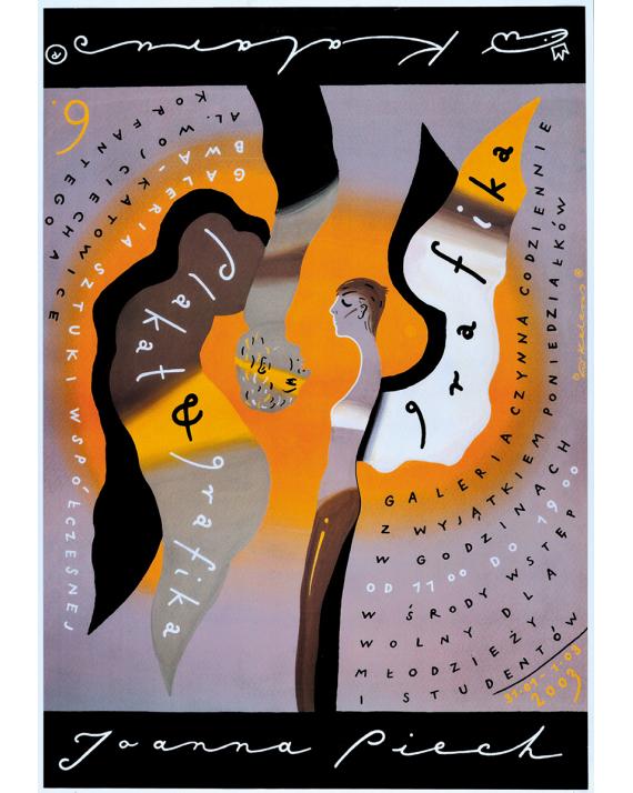 Joanna Piech Kalarus, Plakat i grafika