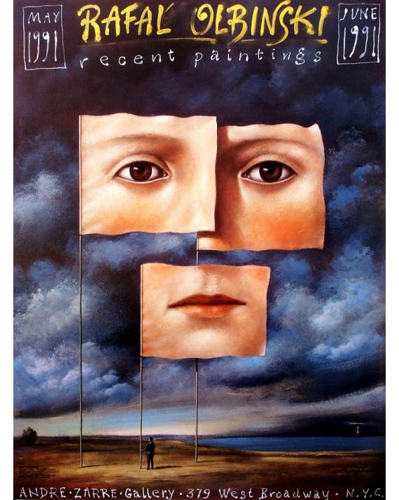Olbinski, recent paintings, N.Y.C. 1991