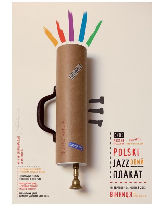 Polski Plakat Jazzowy 2013