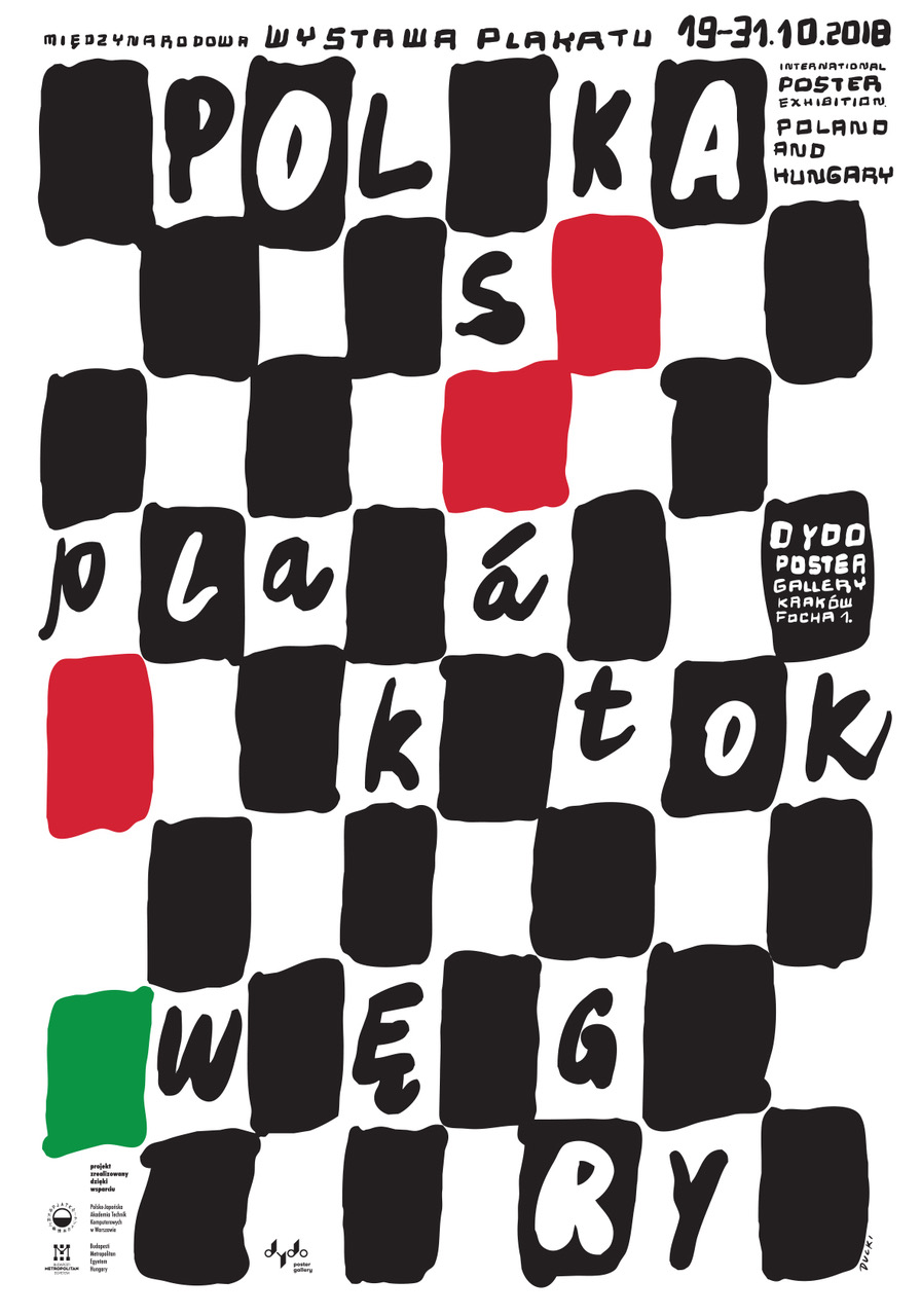 Plakátok. International Poster Exhibition. Poland & Hungary.