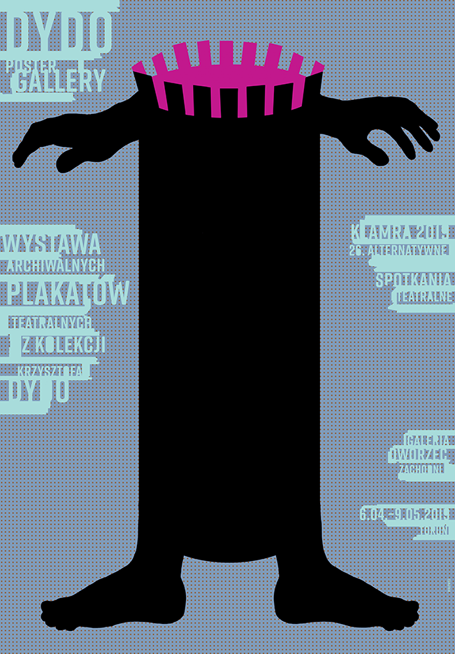 Torun / Exhibition of archival theater posters