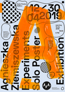 Experiments | Agnieszka Ziemiszewska | Plakaty